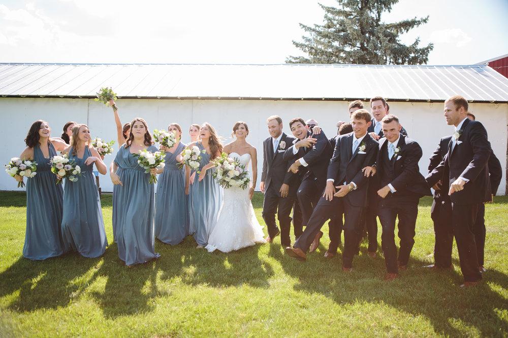 Lauren Baker Photography Unlimited wedding party