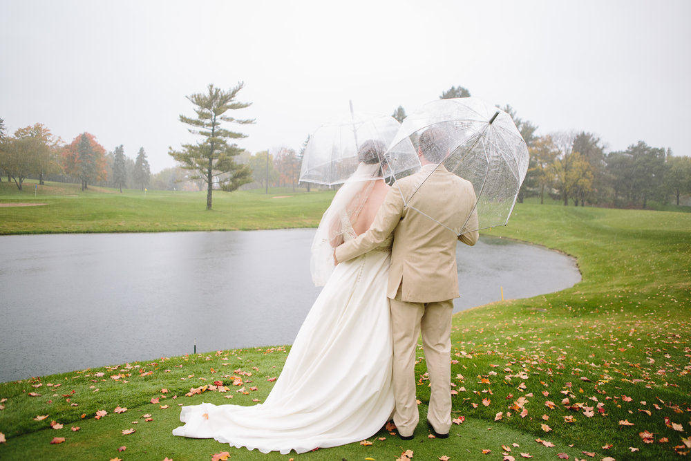 Lauren Baker Photography rain on wedding day