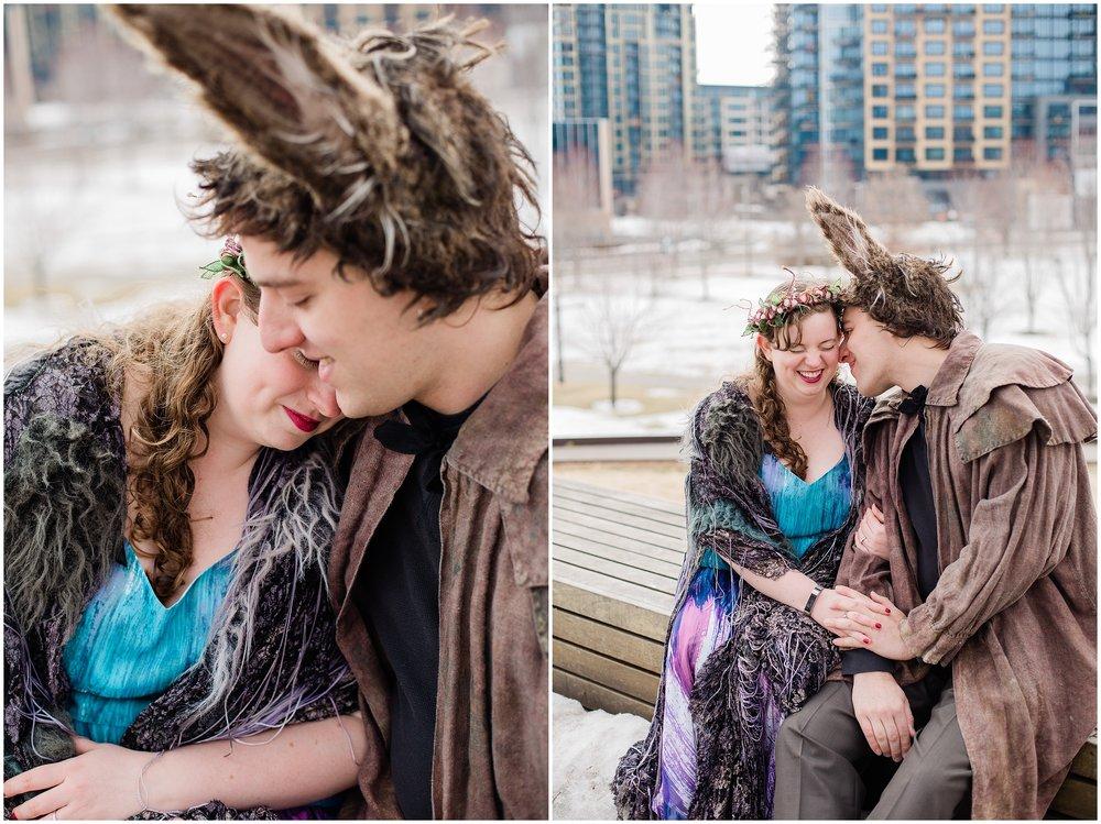 Gold Medal Park engagement session with Lauren Baker Photography