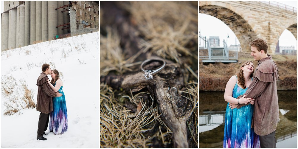 Gold Medal Park engagement session with Lauren Baker Photography