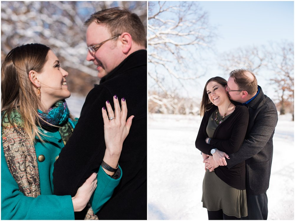 Silverwood Park engagement session with Lauren Baker Photography