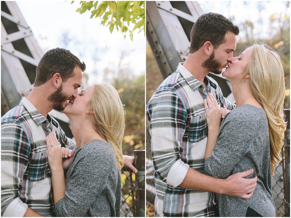Lauren Baker Photography slow kiss