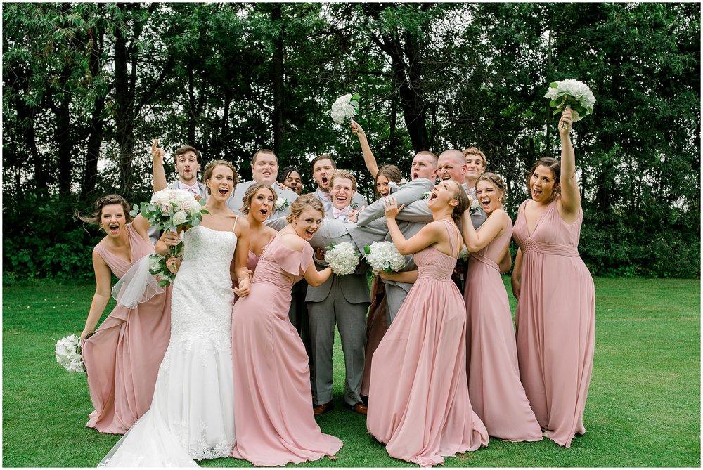 Bunker Hills Golf Course summer wedding Lauren Baker Photography