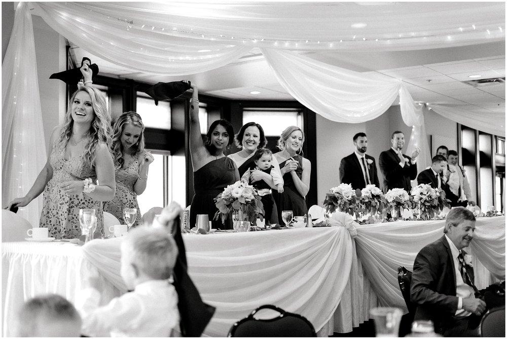 Edinburgh USA Golf Course summer wedding Lauren Baker Photography