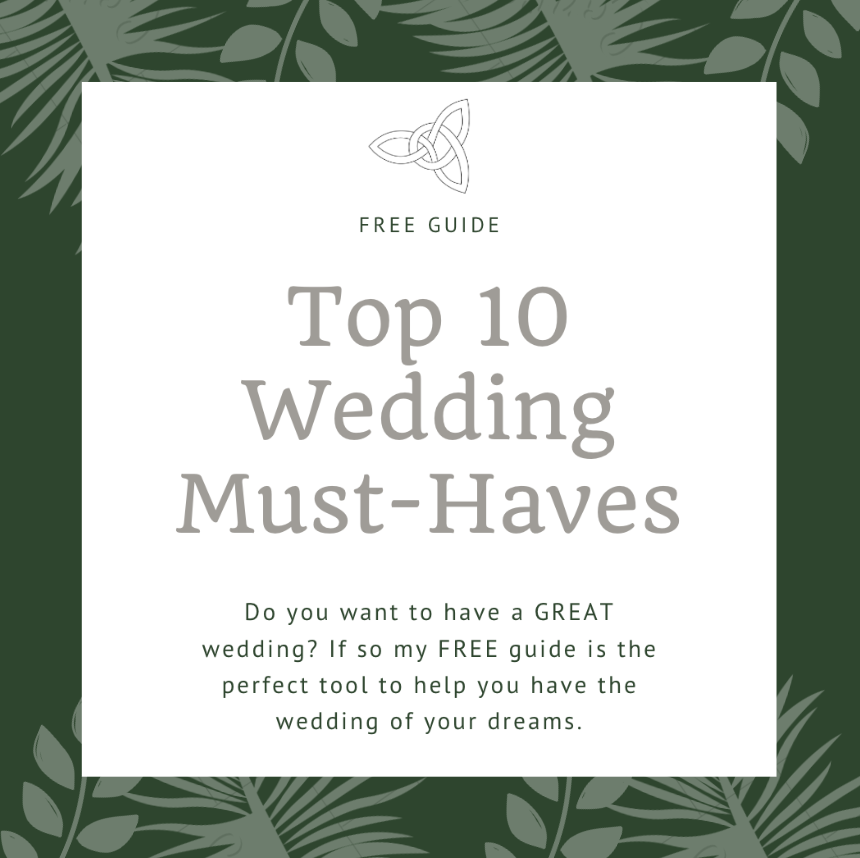 Lauren Baker Photography top 10 wedding must-haves