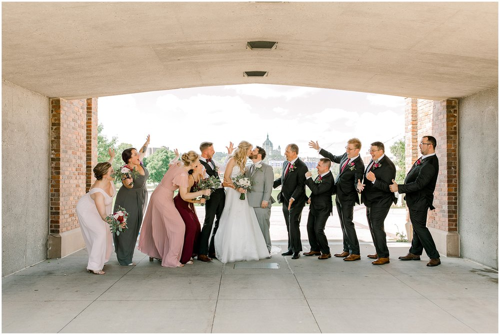 Lauren Baker Photography Fort Snelling Memorial Chapel Wedding Minnesota