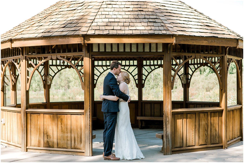 Alexandra And Cameron Eagan Community Center Minnesota Wedding