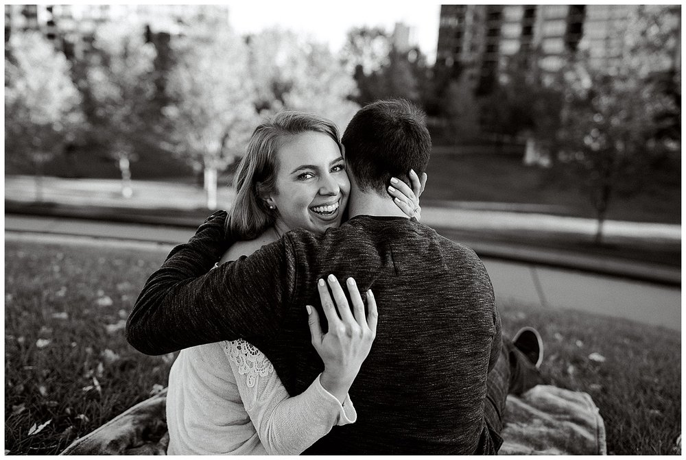 Lauren Baker Photography Gold Medal Park Engagement Photography Minneapolis Minnesota