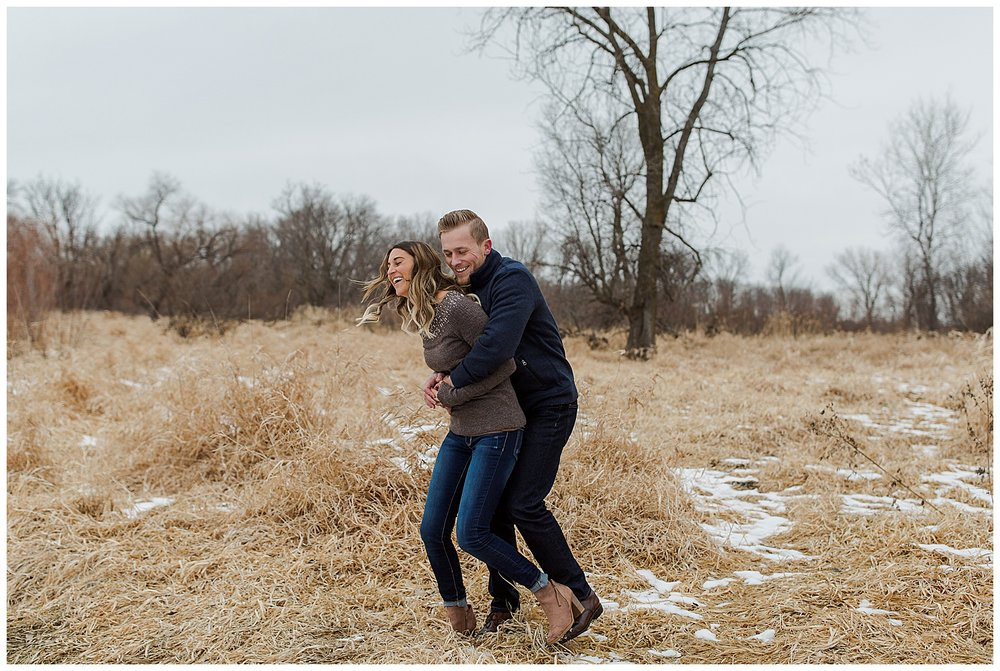 Lauren Baker Photography Rice Creek North Regional Trail Minnesota wedding engagement photography