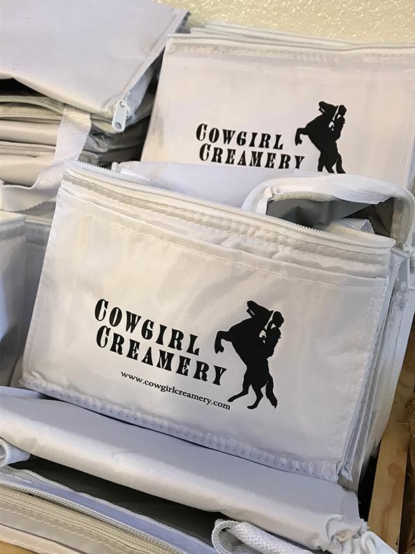 Cowgirl Creamery Accessories.
