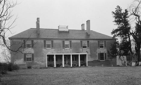 Tudor-Hall-FRONT-ELEVATION-Dec-1936-Leonardtown-MD-LOC-HABS-468-284.png