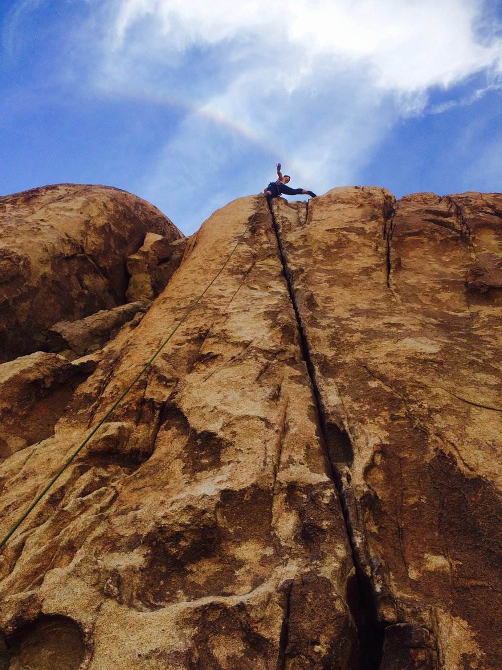 rock climbing - in the works!  -