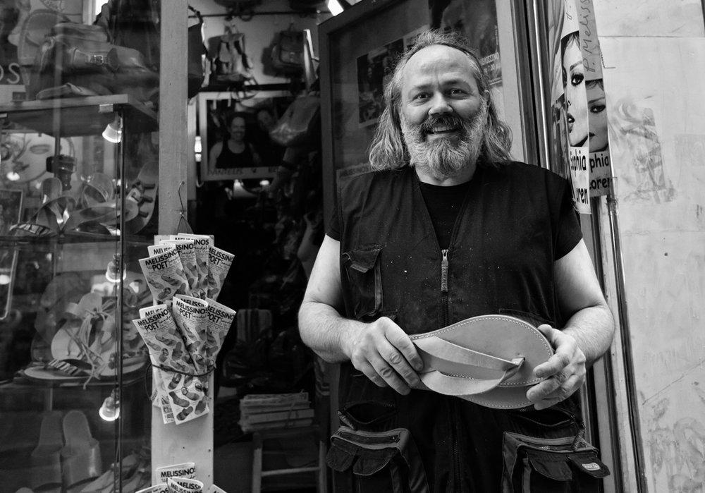 Pantelis Melissinos Poet sandal maker 4.jpg