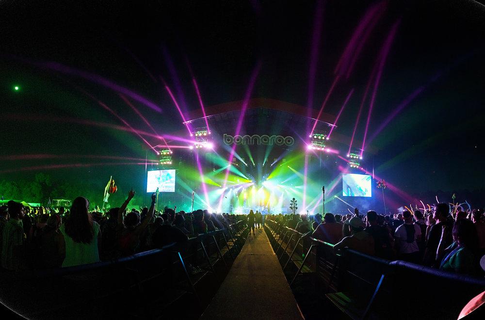 Bonnaroo lights