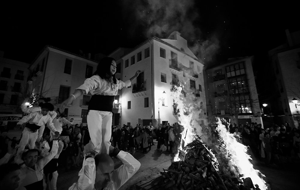 Neighborhood Demonstration - Valencia, Spain