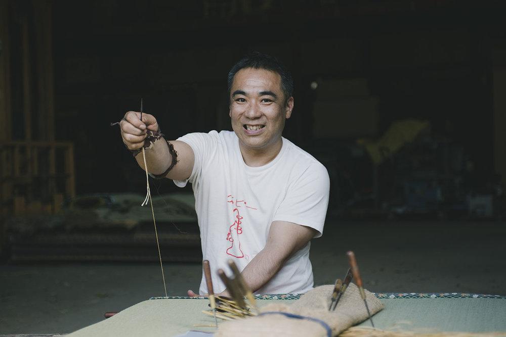 Meet Satoshi |  The Tatami Maker