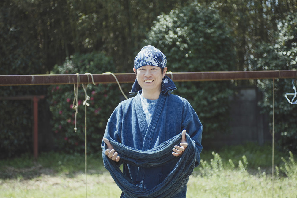Meet Daigo |  The Aizome Dyer