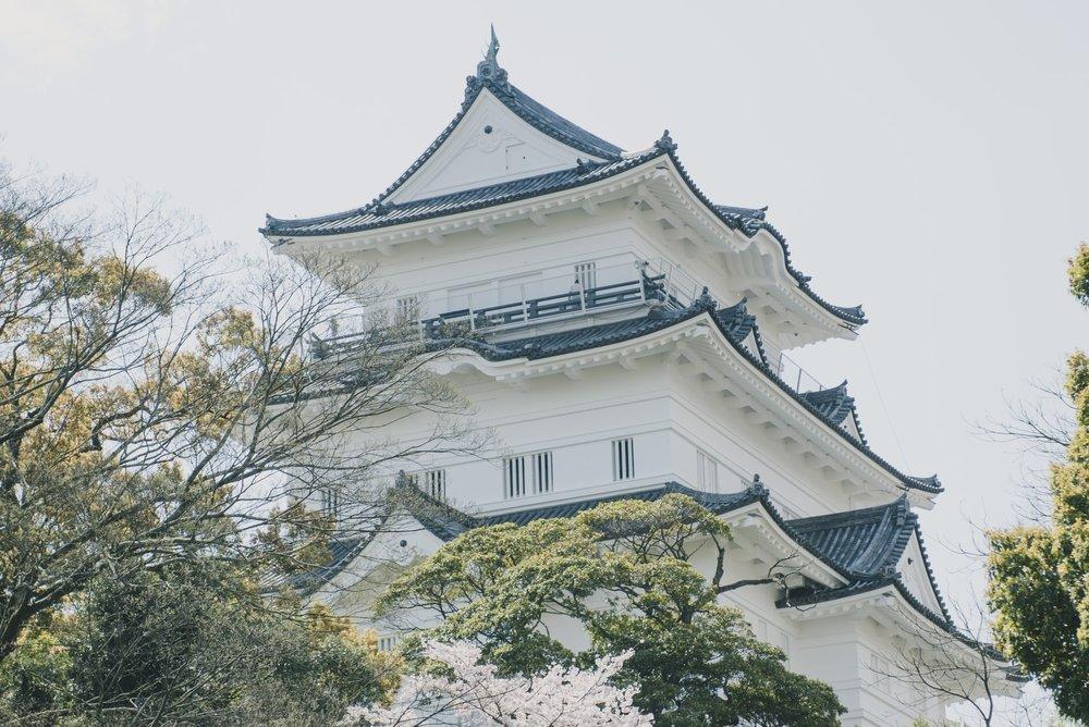 Odawara-Jo | Odawara, Kanagawa  Odawara-jo was built in the 15th century.