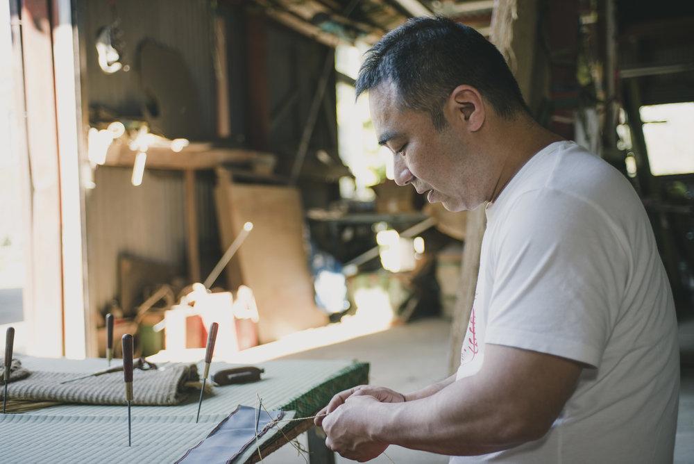 Meet the Artisans of Japan - Satoshi Miyazaki: The Tatami Maker