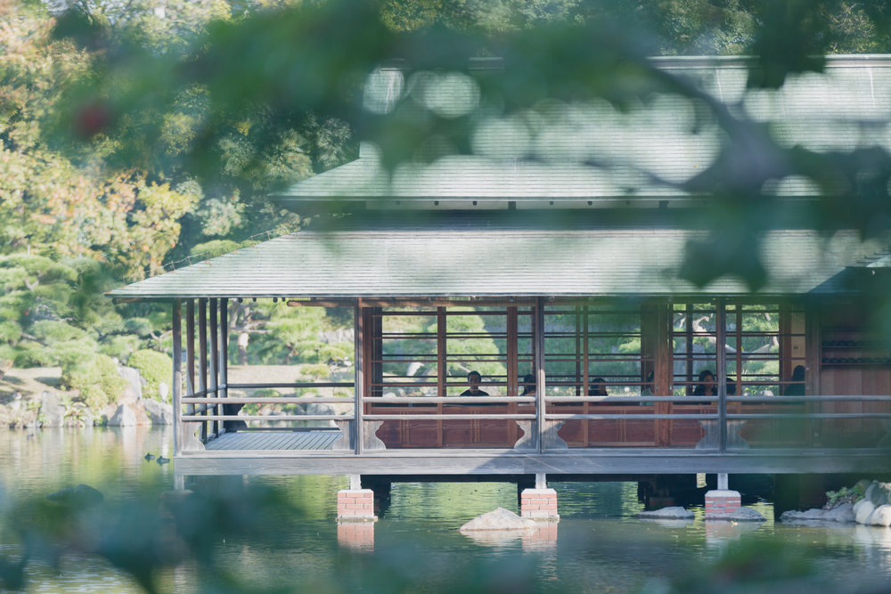 Take a walkabout in the traditional Japanese gardens.