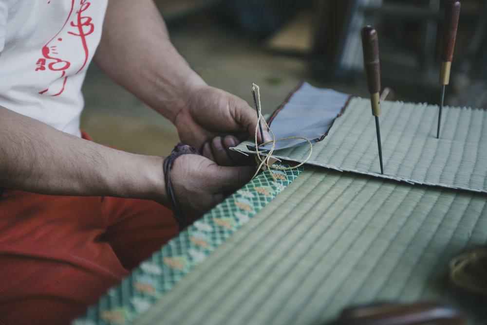 Eco-friendly and natural mats.