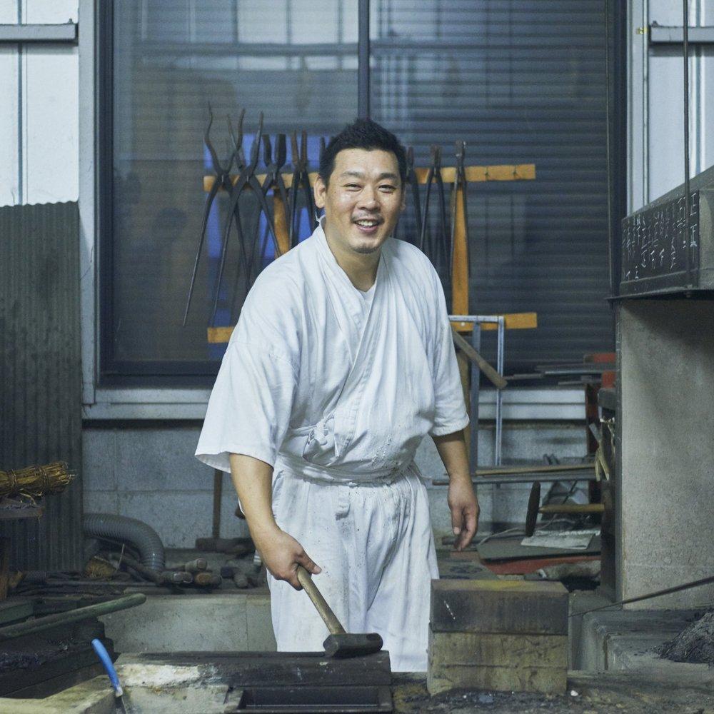 FUSAHIRO SHIMOJIMA - The Katana Sword Smith