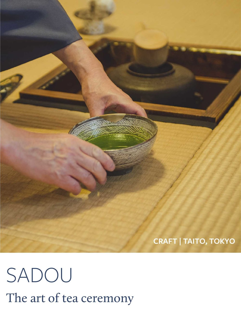 Copy of Meditative tea ceremony