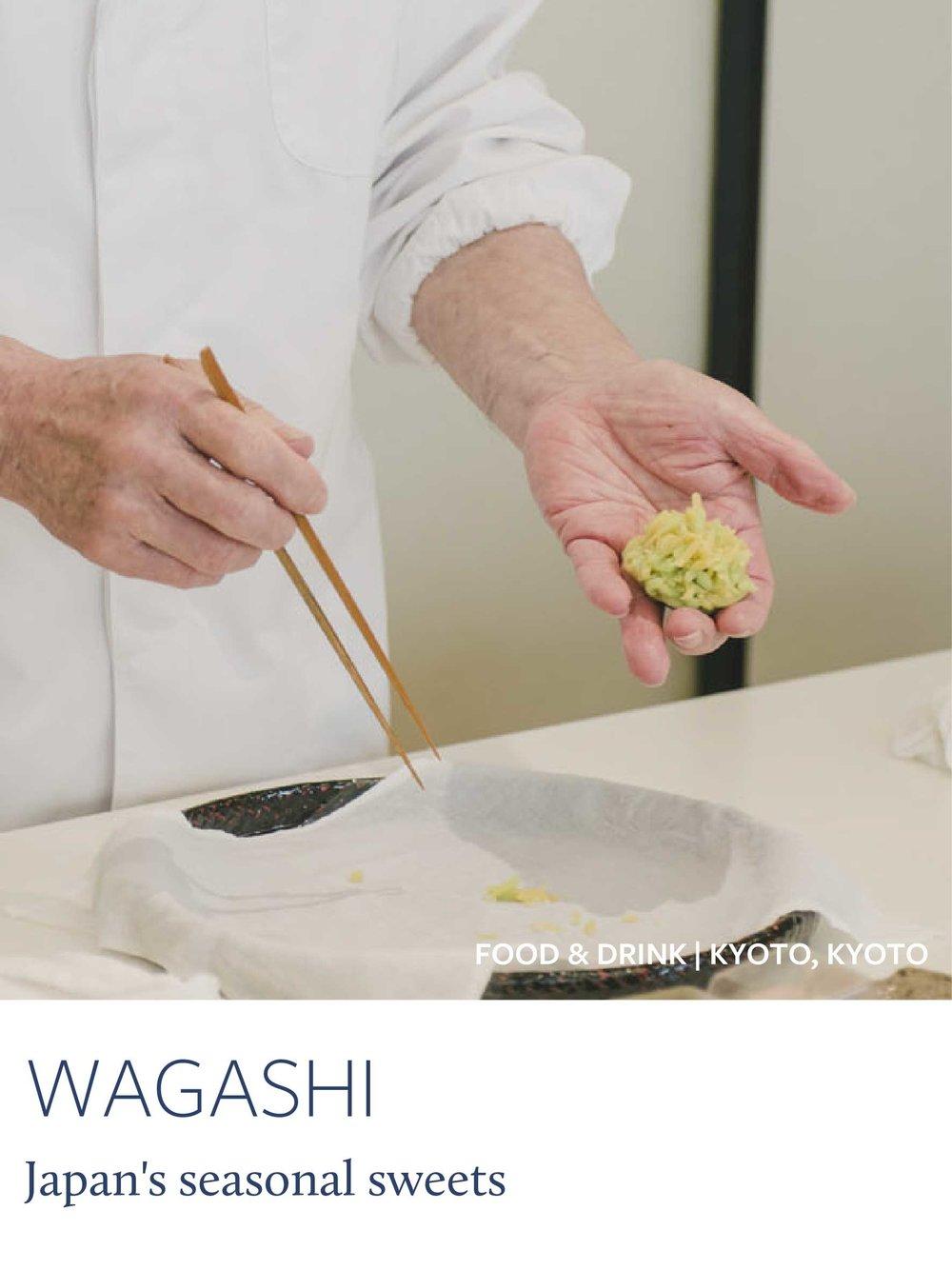 Copy of Kyoto's Seasonal Sweets