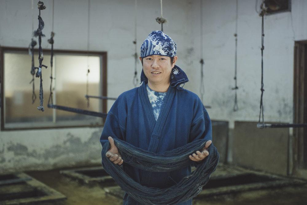 Daigo | The Aizome Dyer