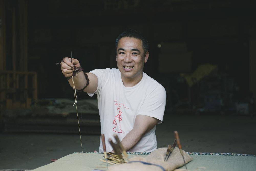 Satoshi | The Tatami Maker