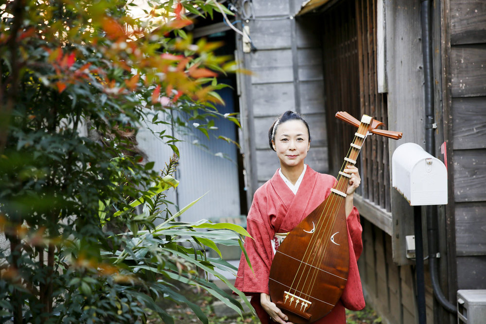 Nobuko | The Biwa Performer