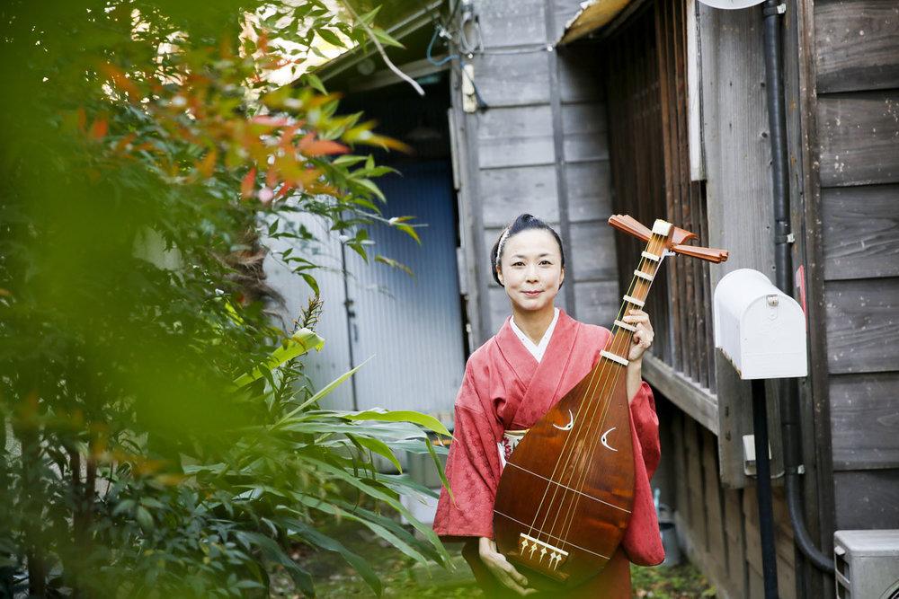 Nobuko, Biwa Performer