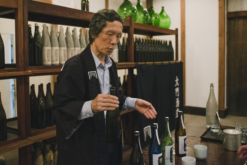 Explore the heart of sake at a 6th generation Osaka brewery. -