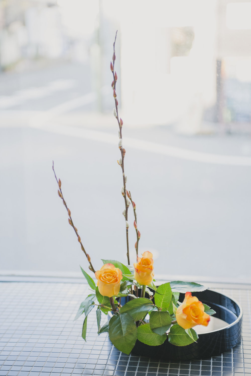 Learn the living language of flowers at an Ikebana atelier. -
