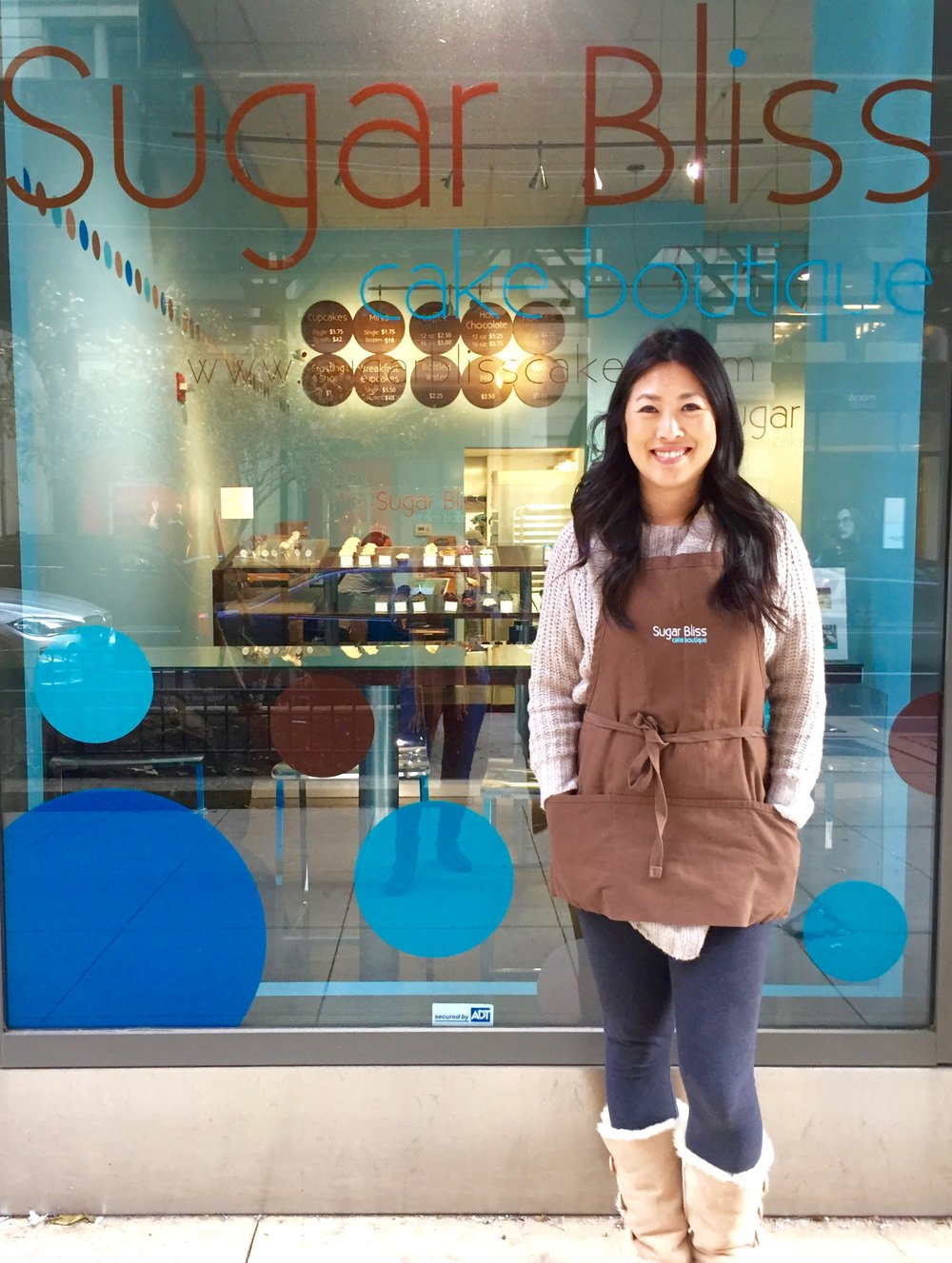 Teresa Ging owner of Sugar Bliss Cake Boutique
