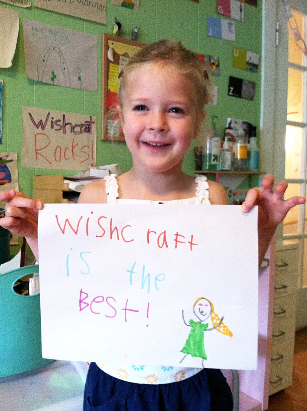 Wishcraft Workshop art for kids, women-owned