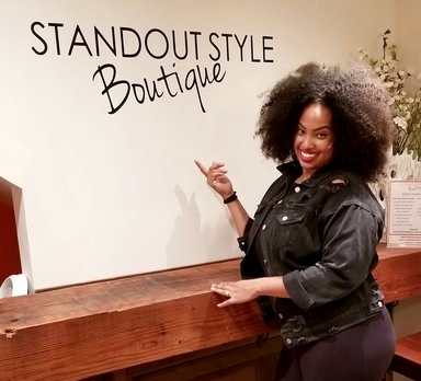 """- An award winning fashion boutique and event space, Standout Style crafts an individualized experience for every one of their guests, every single day.Tamika Price, the founder and owner, built Standout Style's South Side location as a """"female entrepreneur meeting space."""" Far from the traditional retail shop, Tamika combines all of her experience to create a truly unique environment that encourages community building and empowerment.In Tamika's own words, """"The main goal is always the same: to make women feel comfortable in here. I want them to have an experience, not just shopping and sales. I want them to feel good about whatever they leave out the door with, whatever experiences they've had here, I want them to feel fulfilled."""""""