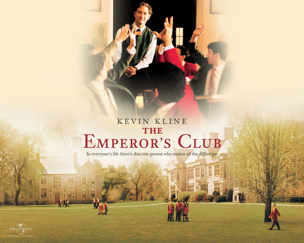 The Emperor's Club  Feature Film  *Period piece set in 1970s