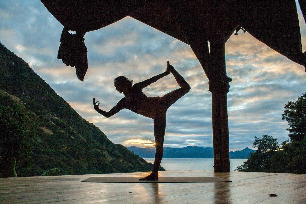 Yoga, Bambu Guest House, Tzununa, Lake Atitlan, Guatemala, Central America, things to do, activities
