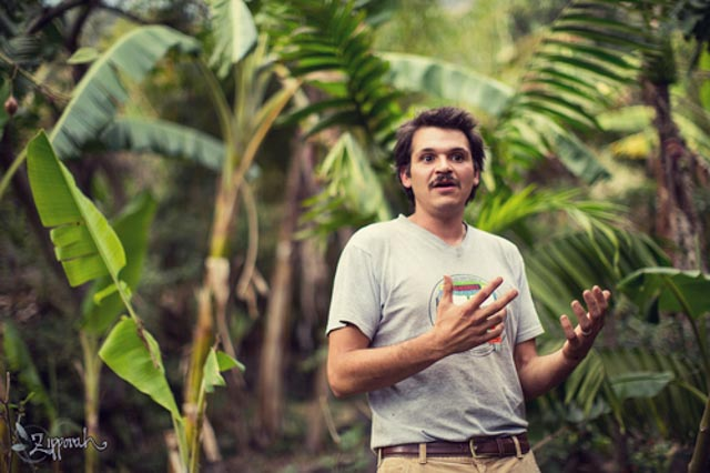 Shad Qudsi, Facilitator of Permaculture for the Herbalist's Path, an integrated Permaculture Design Certification and Herbal Studies course this September 23 - October 18 2019 with Atitlan Organics and the Bambu Guest House at Lake Atitlan, Guatemala.