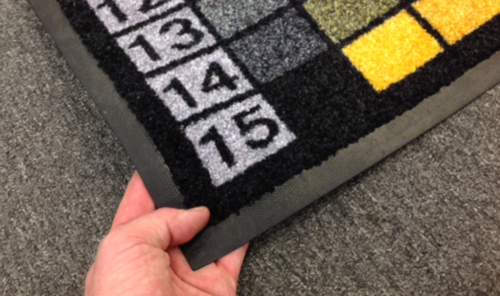 You may also like to look at our  Printed Entrance Mats . These mats are printed in Australia and very hard-wearing with a 3 year guarantee.