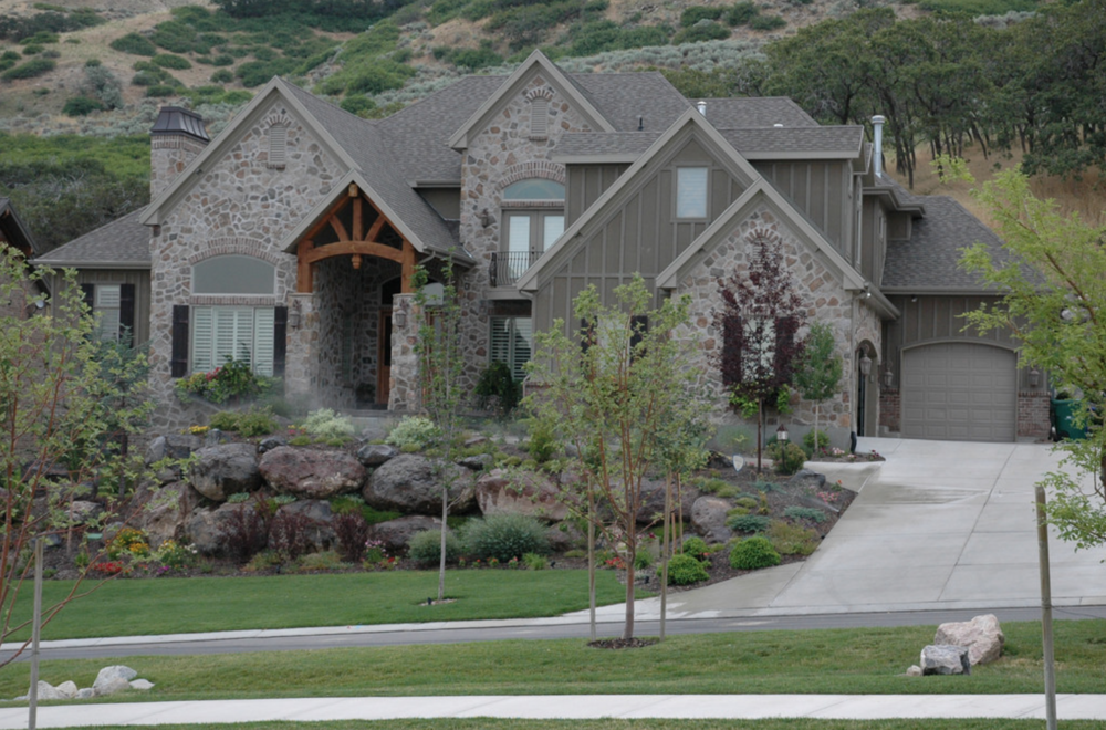 Eastman Residence - Situated at the base of the Wasatch Mountain range.