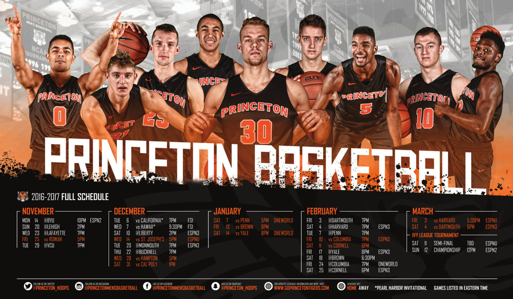 Princeton Sport Poster