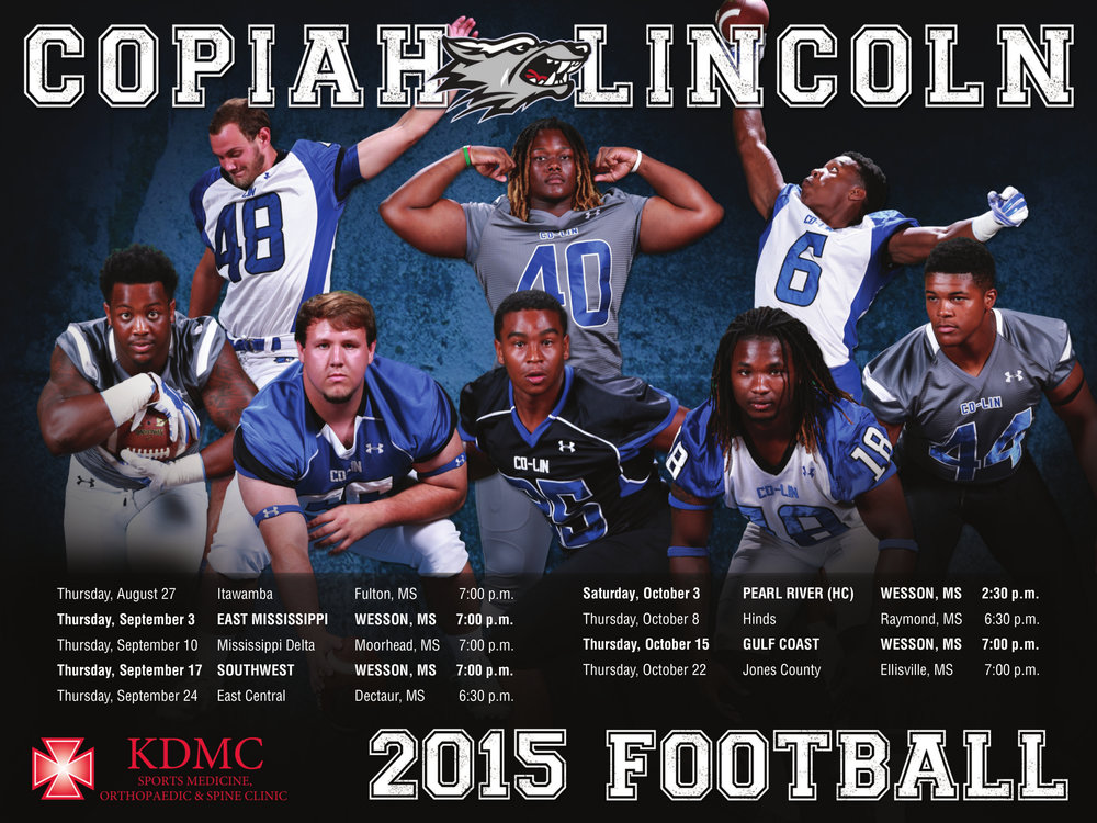 Copiah Lincoln Sport Poster
