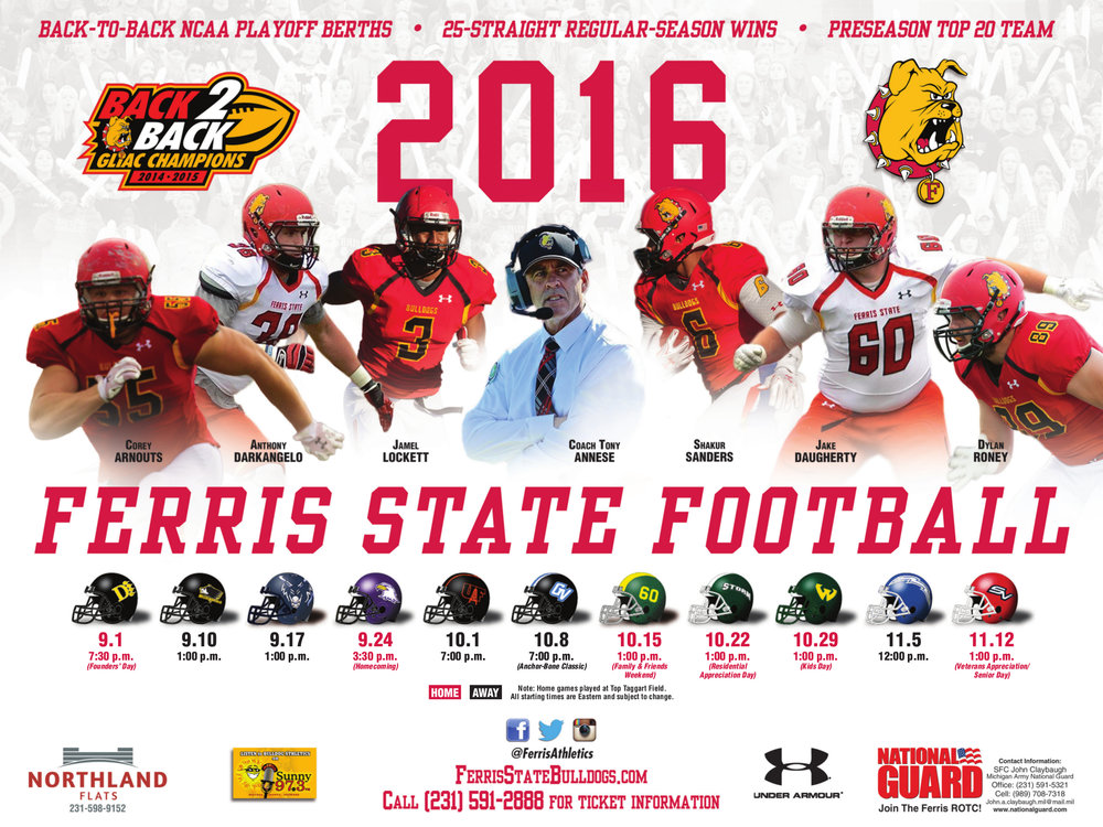 Ferris State Sport Poster