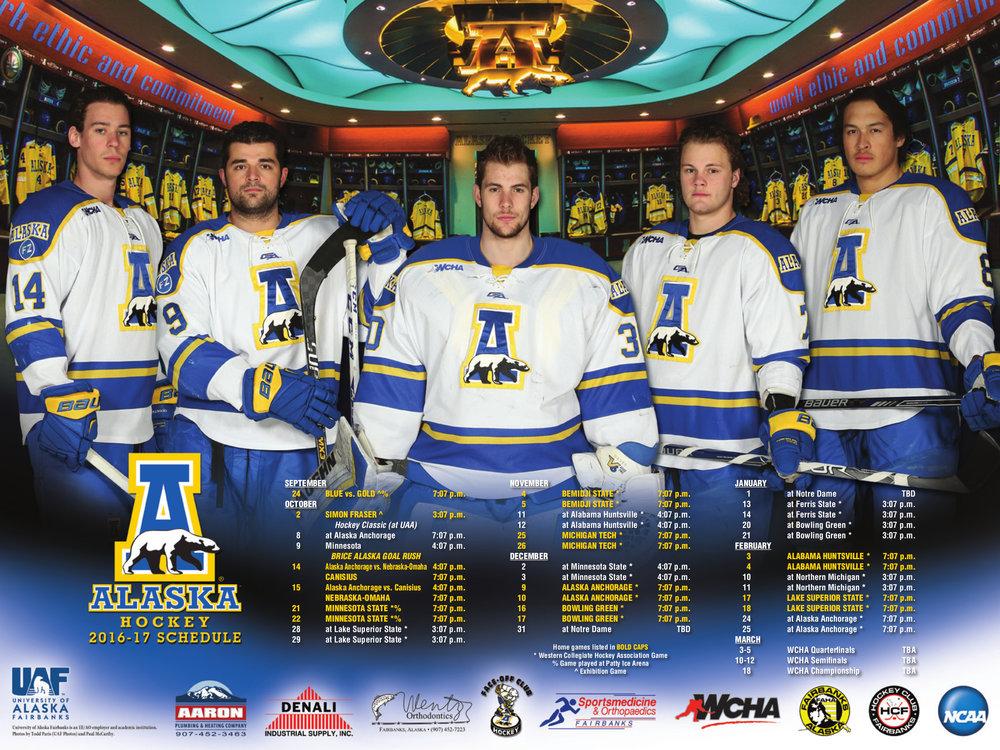 Alaska Sport Poster