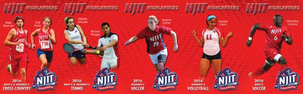 NJIT Sport Schedule Card