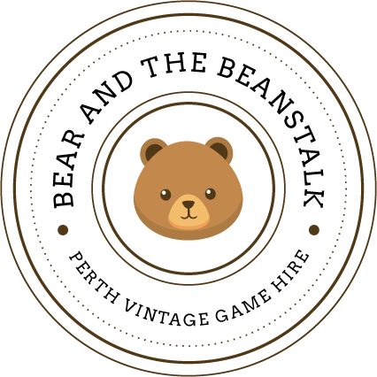 Bear and the Beanstalk | Hire lawn and backyard games | Perth WA