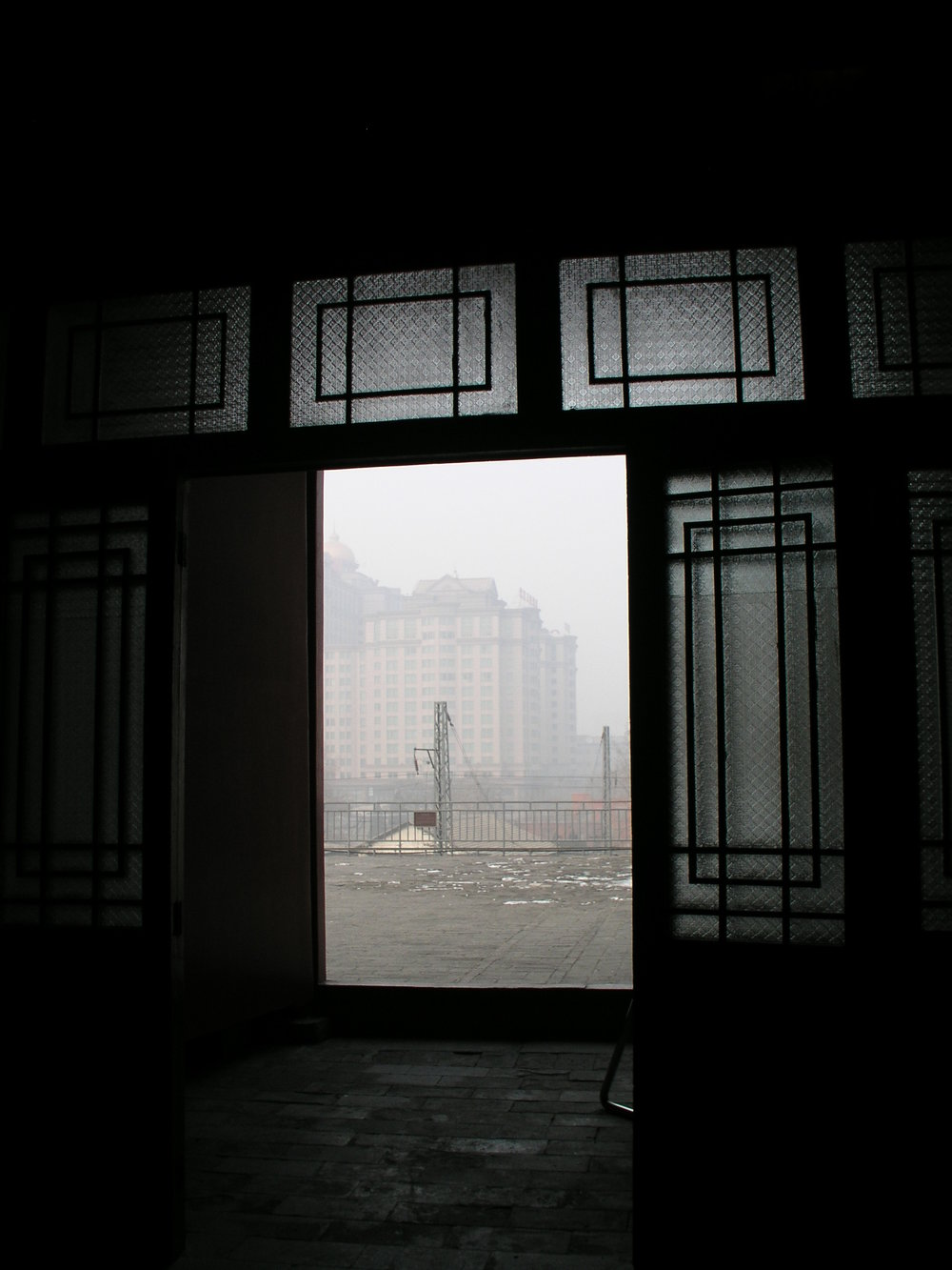 Red Gate window on Beijing pollution, 3pm A.JPG