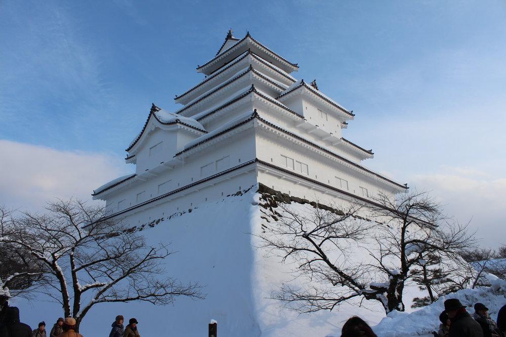 Tsuruga-jo Castle, the last great Shogun palace.JPG